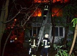 В одесском санатории снова произошел масштабный пожар