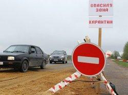 В Одесской области установили карантинные посты из-за вспышки сибирской язвы