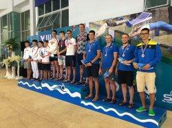 Северодонецкие спортсмены-подводники привезли награды из Таиланда