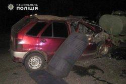На выезде из Северодонецка произошло ДТП. Есть пострадавший