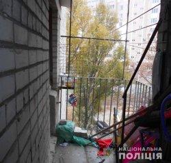 В Харькове на балконе многоэтажки повесилась 14-летняя школьница