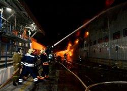 На Одесчине горел маслоперерабатывающий завод
