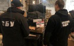 В Одессе заблокировали контрабанду алкоголя и сигарет