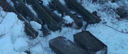 В Запорожской области сотрудники СБУ нашли тайник с оружием