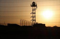В Луганской области на границе с РФ продолжаются работы по инженерно-техническому обустройству