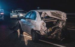 Под Киевом столкнулись 19 автомобилей, есть пострадавшие