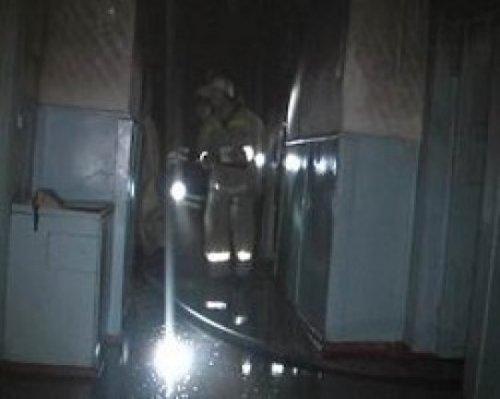 В оккупированном Свердловске горела школа