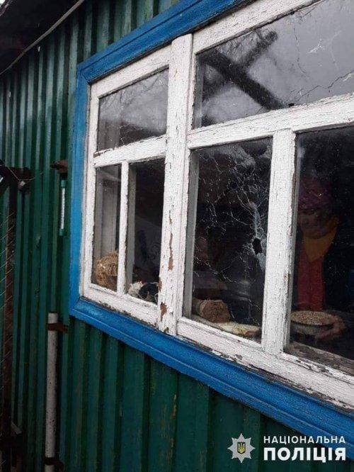В Золотом-4 в результате обстрела боевиков повреждены жилые дома