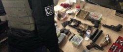 В Одесской области СБУ изъяла оружие и боеприпасы