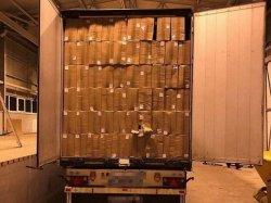 Под видом помощи голодающей Африке контрабандные продукты отправляли в оккупированные Луганск и Донецк