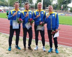 Луганский легкоатлет-паралимпиец завоевал 4 медали на Чемпионате Европы