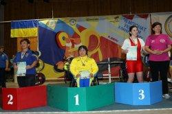 Луганские пауэрлифтеры завоевали 2 золотые медали установили рекорд Украины