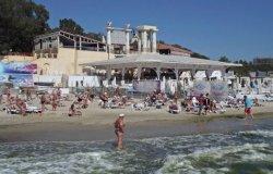 В Одессе на пляжах «Аркадия», «Отрада» и пляжах 10, 13, 16 станции Большого Фонтана морская вода не соответствует нормам